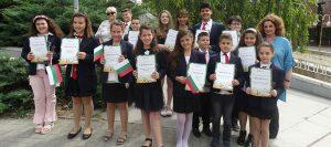 """Наградени ученици от ЧСУ """"НОВ ВЕК"""""""